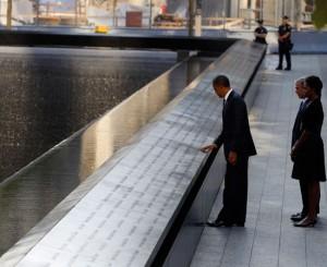11 Settembre, Obama e Bush ricordano le vittime a Ground Zero
