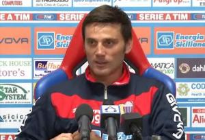 Catania-Inter, conferenza di Montella alla vigilia del match