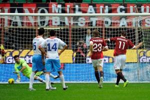 Milan-Catania 4-0, pesante sconfitta per gli etnei