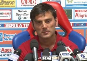 Catania-Chievo 1-2, Montella: una sconfitta che per vale il doppio