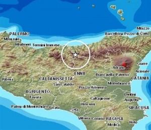 Terremoto tra Messina e Palermo, scossa magnitudo 3.1