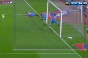 Catania-Milan 1-1, per Marotta il tiro di Robinho era dentro