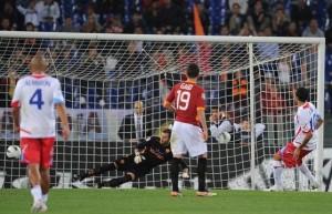 Roma-Catania 2-2, gli etnei fermano la corsa all'Europa dei capitolini