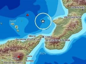 Terremoto oggi in Sicilia e Calabria: magnitudo 3.3 sullo stretto di Messina