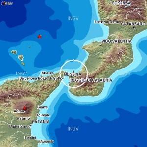 Terremoto Stretto di Messina, 4.6 sentito anche a Catania e Cosenza