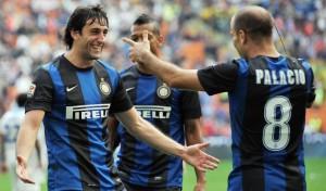 Serie A, risultati 8a giornata: l'Inter batte il Catania 2-0 e vola al terzo posto a 4 punti dalla Juve