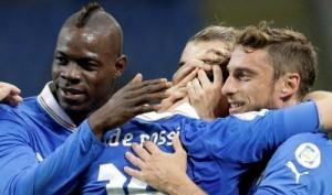 Italia-Danimarca 3-1: decidono Montolivo, De Rossi e Super Mario Balotelli