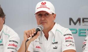 Michael Schumacher annuncia il suo ritiro dalla Formula 1