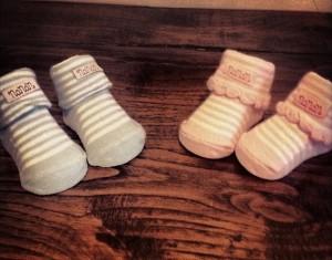 Alessia Fabiani - foto scarpette gemelli