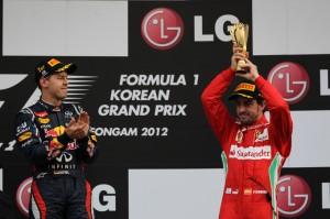 Formula 1: Vettel vince il GP di Corea e sorpassa Alonso (3°)
