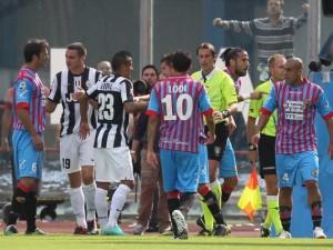 """Catania-Juventus 0-1 tra le polemiche, Pulvirenti: """"gol annullato dalla panchina juventina!"""""""