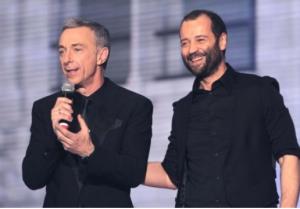 Linus e Fabio Volo, foto del 2012
