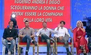 Uomini e Donne, anticipazioni nuova puntata registrata: Eugenio, Diego e Andrea
