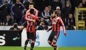 Champions League: Anderlecht-Milan 1-3, rossoneri qualificati agli ottavi