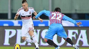 Catania-Milan 1-3: gol, interviste e video della partita (Serie A 2012-13)