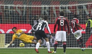Milan-Juventus 1-0: gol, interviste e video della partita (Serie A 2012-13)
