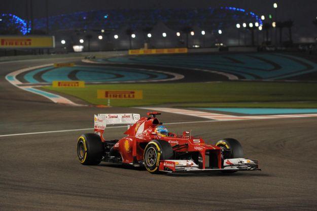 Fernando Alonso - Ferrari - GP Abu Dhabi - F1 2012
