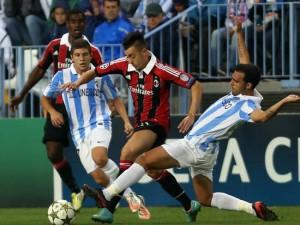 Milan-Malaga: diretta live 6 novembre 2012 (Champions League 2012-13)