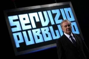 Michele Santoro riprende Beppe Grillo a Servizio pubblico