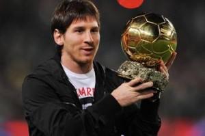 Pallone d'oro 2012: vince Lionel Messi, è il quarto consecutivo