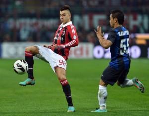 Inter-Milan, formazioni ufficiali in campo (Serie A 2012-13) [risultato finale 1-1]