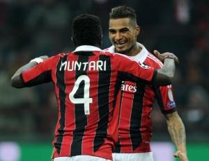 Milan-Barcellona 2-0: Messi non brilla, in gol Boateng e Muntari