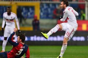 Genoa-Milan 0-2: video dei gol e interviste Ballardini-Allegri (Serie A 2012-13)