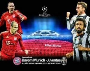 Bayern Monaco-Juventus: formazioni, quote e diretta TV (Champions League 2012-13)