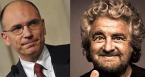"""Letta: """"via il finanziamento pubblico ai partiti"""", Grillo: """"ennesima presa per il ..."""""""