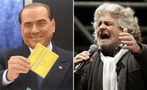 Beppe Grillo attacca Silvio Berlusconi con un post sul suo blog
