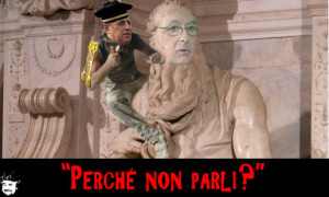 """Beppe Grillo, trattativa Stato - Mafia: """"Napolitano preferisce stare a Roma"""""""