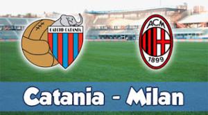 Catania-Milan: formazioni, quote e diretta streaming (Serie A 2013-14)