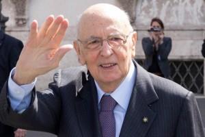 Giorgio Napolitano a Catania tra applausi e proteste