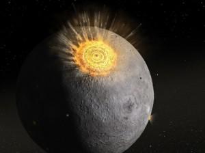 Asteroide colpisce la Luna, il più grande impatto in diretta