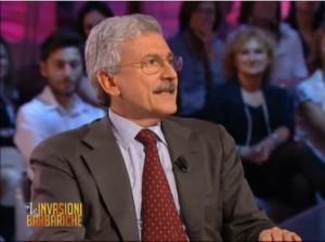 "D'Alema a 'Le Invasioni Barbariche': ""Renzi batte Berlusconi..."""