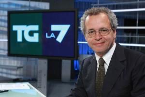 Mentana sfida Letta e minaccia di dimettersi dal TgLa7