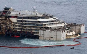 Costa Concordia prepared for dismantling
