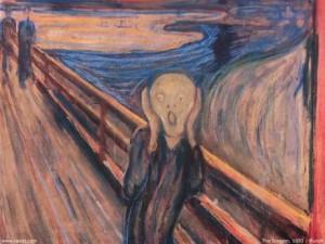 italiani depressi urlo munch