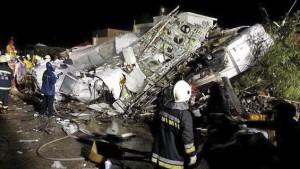 Taiwan: incidente aereo, almeno 48 morti