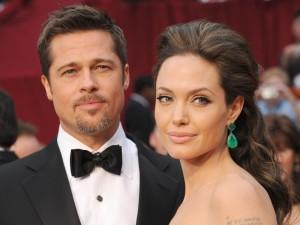Brad Pitt e Angelina Jolie: si sono sposati in segreto in Francia