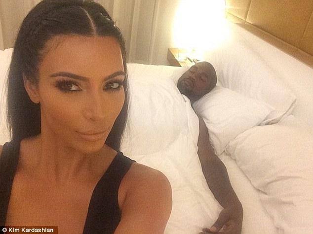 Kim Kardashian e suo marito-2014