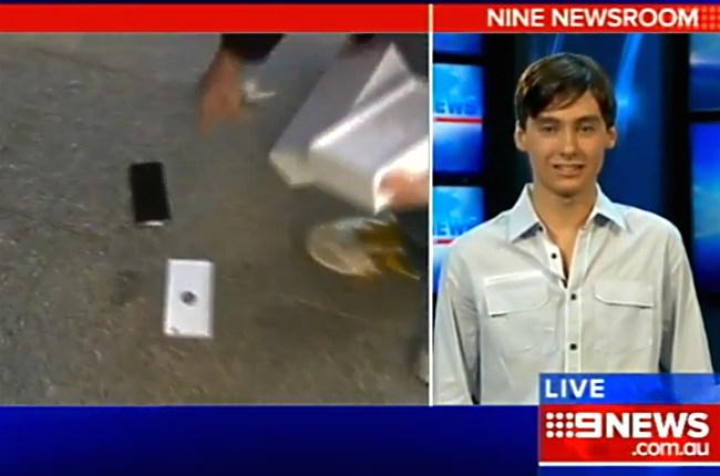 IPhone 6 Australia, lo acquista per primo e lo fa cadere