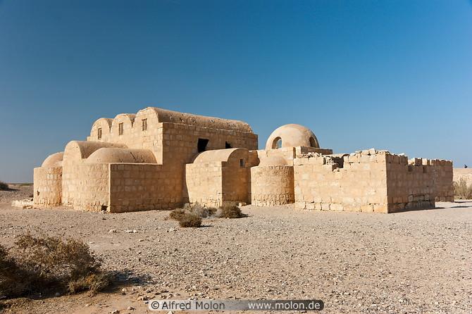 Qusayr-Amra deserto castello