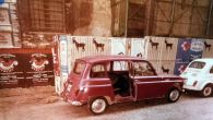 """Riemerge da un garage della Polizia la Renault 4 """"di"""" Aldo Moro"""