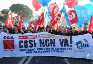 """Sciopero generale, Napolitano: """"Si trovi discussione pacata"""""""