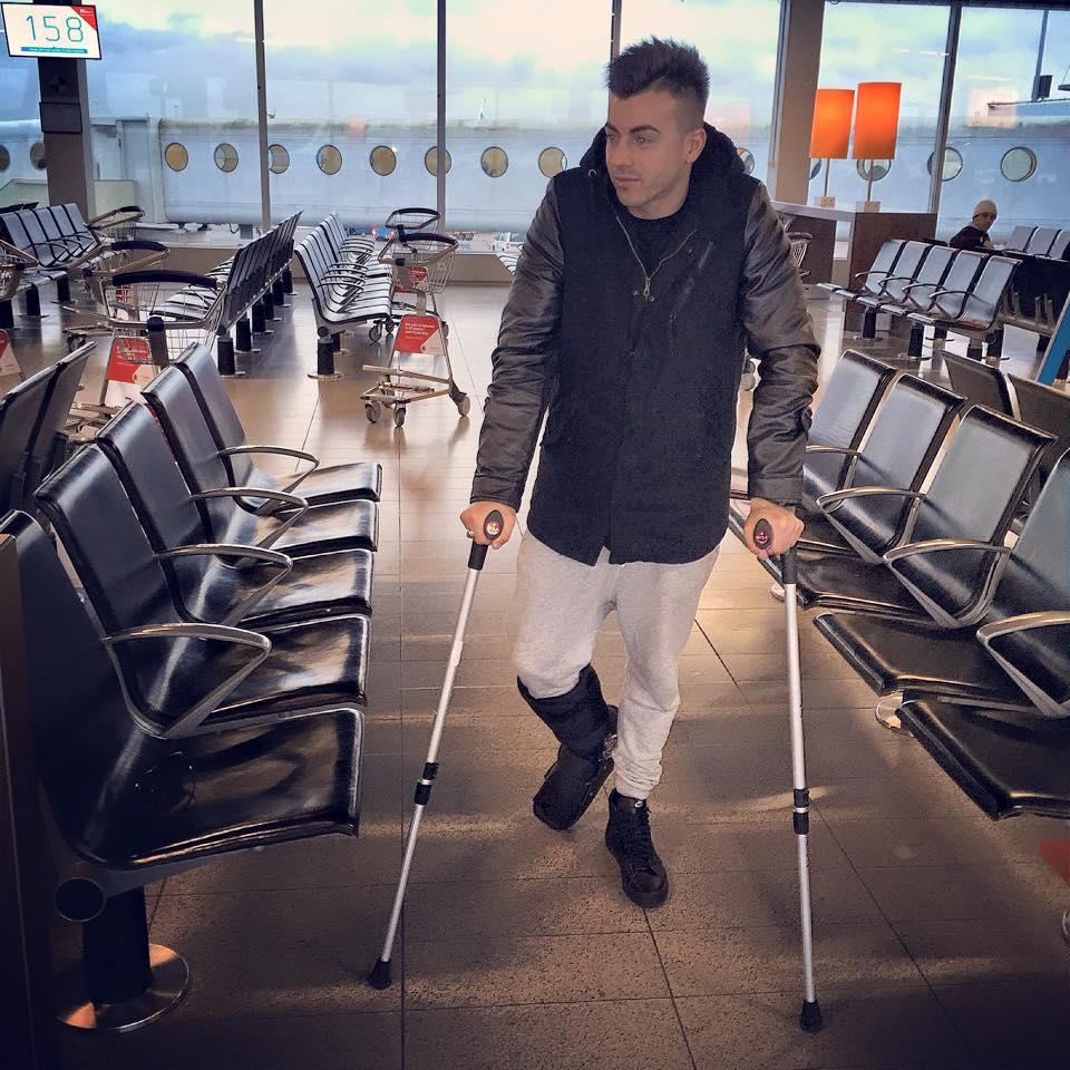 Stephan El Shaarawy infortunio