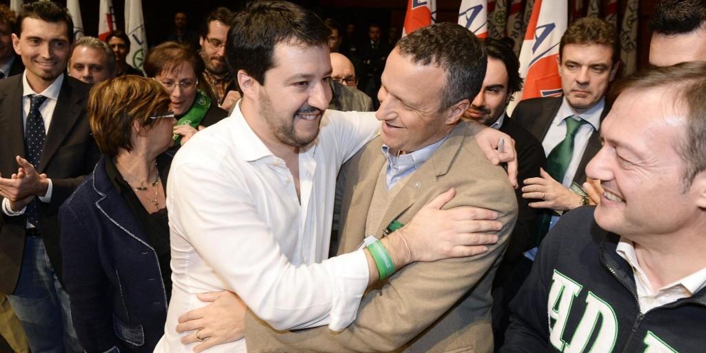 """Tosi vs. Salvini: """"La Lega non mi paga, prendo lo stipendio da sindaco"""""""