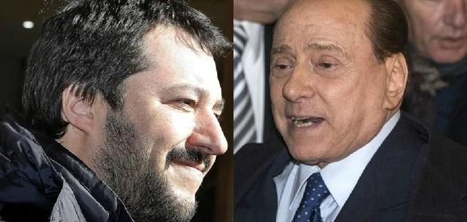 Ipotesi di alleanza Salvini-Berlusconi in vista delle elezioni regionali