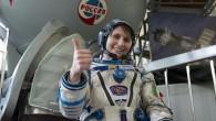 Samantha Cristoforetti ospite da Fabio Fazio, dallo spazio