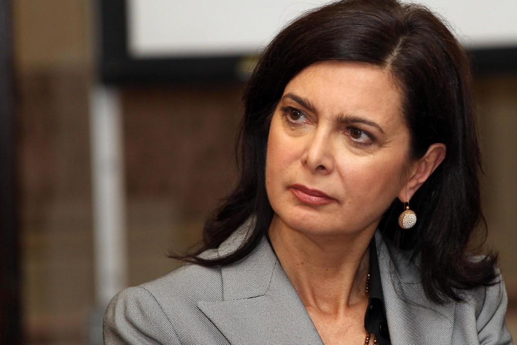 """Laura Boldrini: """"Basta risse, il premier abbassi il livello dello scontro"""""""
